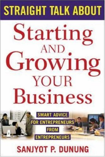 Straight Talk About Starting And Growing Your Business front-1018681