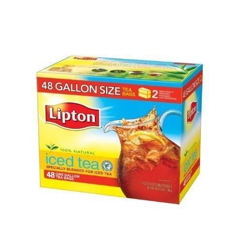 Lipton Iced Tea Gallon Size 48 ct New