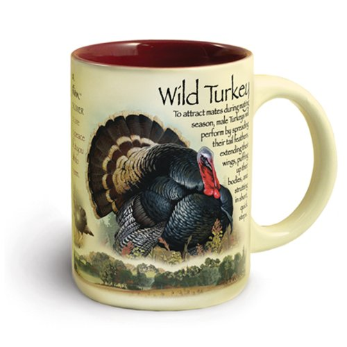 16-Ounce Ceramic Turkey Mug