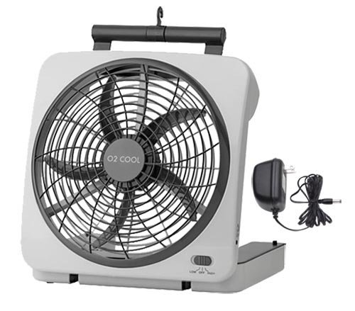 Great Features Of 10 Portable Fan, Can Use Batteries or Adapter
