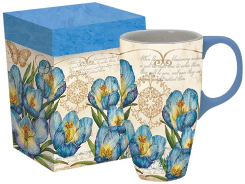 LANG 5036259 Blue Crocus Latte Mug