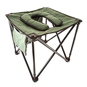 Traveljohn Foldable Commode Utility Chair Amazon Co Uk