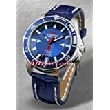 Blue Russian Submarine Watch
