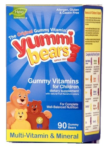 Yummi Bears Multi-Vitamin & Mineral, 90-Count