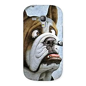 Stylish Big Face Dog Back Case Cover for Galaxy S3 Mini