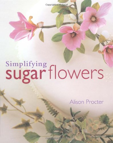 Cheap simplifying sugar flowers merehurst cake for Decorate with flowers amazon