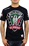 Affliction Mens Velasquez Devotion T-Shirt L Black