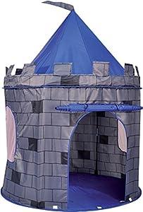 Knight's Castle Pop Up Kids Playhouse Tent - Blue by Pop Up Castle