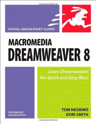 Macromedia Dreamweaver 8 for Windows & Macintosh