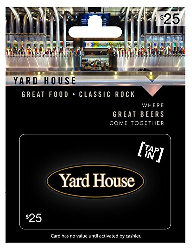 Yard House $25 Gift Card (Amazon Music Card compare prices)