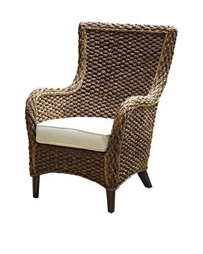 Panama Jack Sanibel Lounge Chair With Cushion, Antique