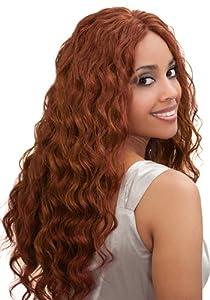 Bobbi Boss Indiremi OCEAN WAVE Virgin Human Hair Remy Weave (18 INCH, 2-DARK BROWN)
