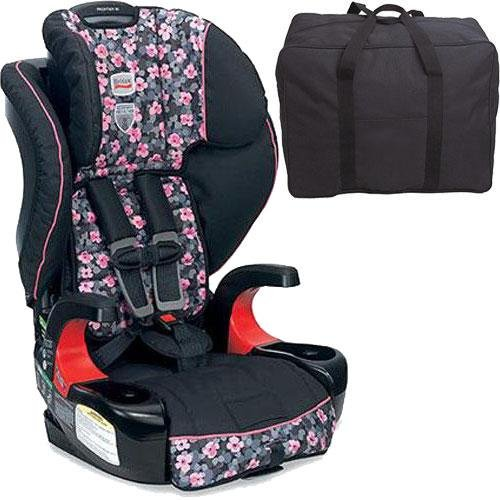 britax frontier 90 combination harness 2 booster seat cactus flower with a car seat travel bag. Black Bedroom Furniture Sets. Home Design Ideas
