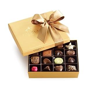 GODIVA Chocolatier 19 pc. Gold Ballotin - Classic, 7.2 OZ