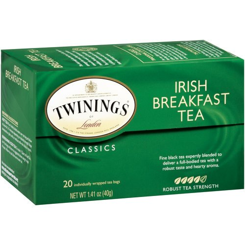 Twinings Of London Irish Breakfast Tea, 20-Count Boxes (Pack Of 2)