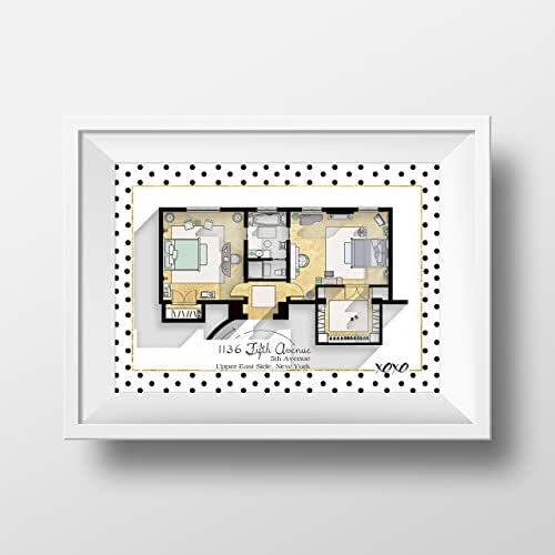 Gossip girl apartment floor plan tv show for Gossip girl apartment floor plans