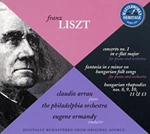 Liszt : Concerto pour Piano n° 1, Fantaisie sur des mélodies populaires, rhapsodies hongroises