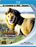 Image de Africa - The Serengeti IMAX [Blu-ray]  [Import allemand]