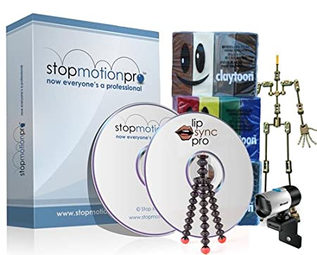 Advanced Animation Kit with Stop Motion Pro Studio HD V7.5