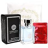 Vintage Repertory Miniature Versace Pour Homme Eau De Toiltte EDT 5ml 0.17oz Cologne for Men Homme Perfume Mini Parfum Collectible Bottle New In Box