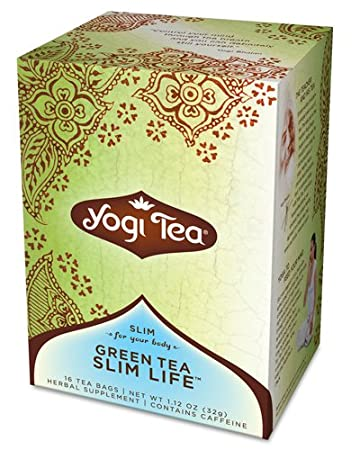 Отзывы Yogi Tea Green Tea Blueberry Slim Life, Herbal Supplement, Tea Bags, 16 ct