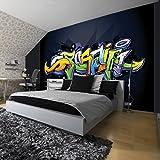 wandsticker graffiti angebote auf waterige. Black Bedroom Furniture Sets. Home Design Ideas