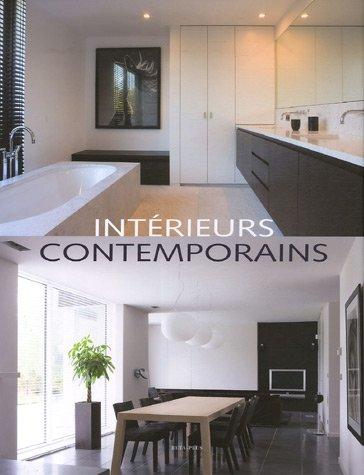 livre int rieurs contemporains. Black Bedroom Furniture Sets. Home Design Ideas