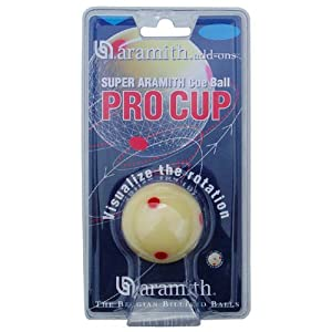 Aramith Pro Cup Cueball As Seen on ESPN