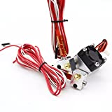 Wangdd22 3D Printer Chimera Extruder Double Nozzle Remote Full Kits 0.4mm 1.75mm Double Head Multi-Extrusion for V6 Dual Head Print
