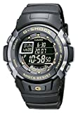 Casio G-Shock G-7710-1ER Digital Quartz Multifunction Sports Watch with Stopwatch, Timers, Alarms, Time Zones, Water Resistant to 20 bar and Black Rubber Strap