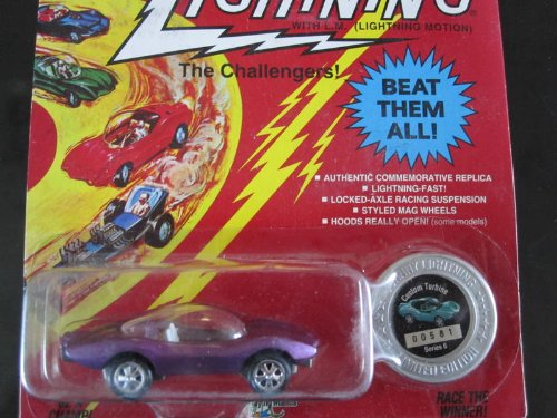 Custom Turbine (light purple flake) Series 6 Johnny Lightning Commemorative Limited Edition - 1