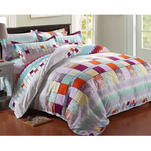 Gray And Green Bedding front-116985