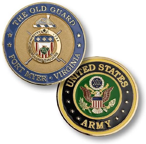 The Old Guard, Fort Myer, Virginia Challenge Coin