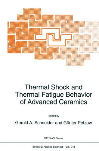 Thermal Shock and Thermal Fatigue Behavior of Advanced Ceramics (Nato Science Series E:)