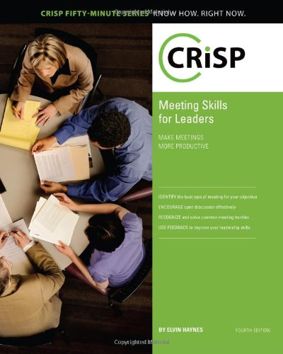 Meeting Skills for Leaders: Make Meetings More Productive...