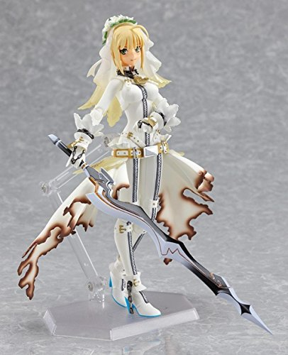Rosy Women New Brinquedos Fate Stay Saber Lily White Wedding Dress Pvc Action Figures Collection Model Toys Doll