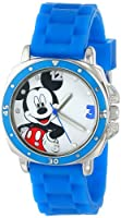 Disney Kids' MK1266 Watch with Blue Rubber Band by Disney