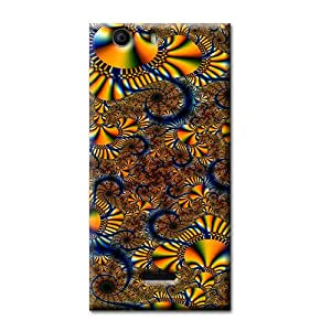 BRIGHT COLOR ABSTRACT BACK COVER FOR MICROMAX CANVAS NITRO 2