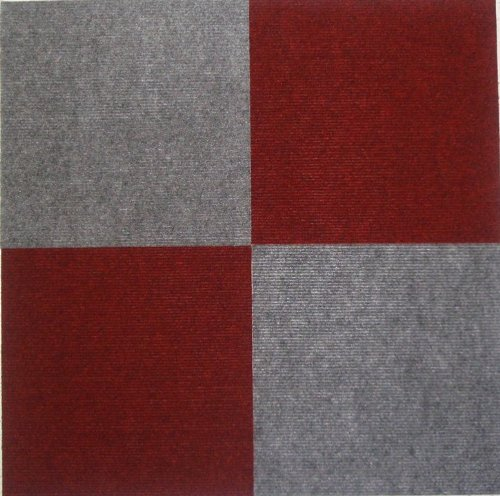 Peel And Stick Carpet Tiles Gray 12 Inch 144 Square Feet