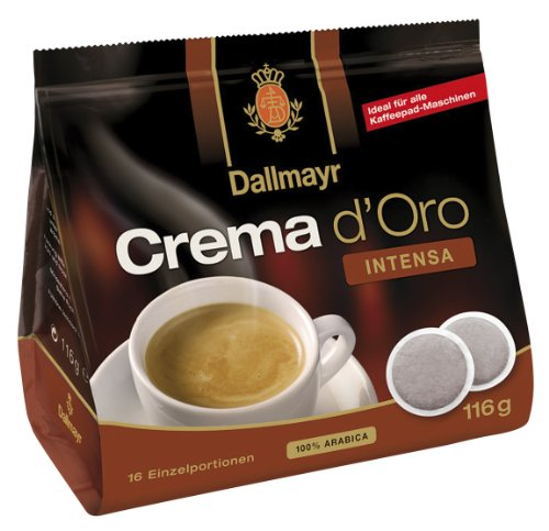 Shop for Dallmayr Crema d Oro Intensa, Pack of 5, 5 x 16 Coffee Pods from Alois Dallmayr