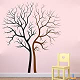 E-Love Couples Lovers Tree Forever Removable Mural Wall Stickers Wall Decal for Home Decor