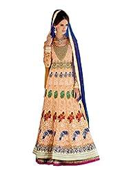 Divyaemporio Womens Faux Georgette Resham Salwar Salwar Suit Set (De-5512 _Multi-Coloured _Free Size)