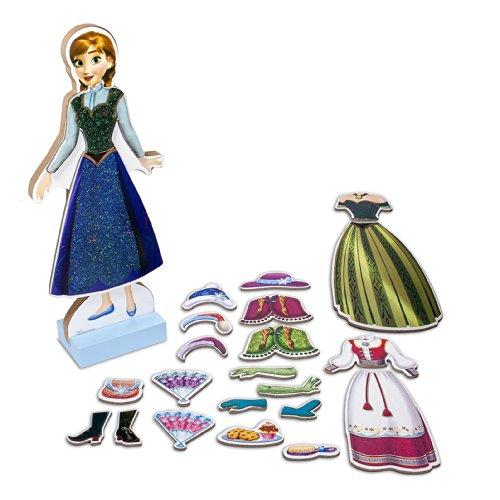 Bendon Disney Frozen Anna Wooden Magnetic Playset (25-Piece)
