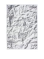 Homemania Alfombra Modern Negro/Blanco 80 x 150 cm