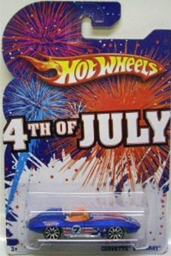 Hot Wheels 2009 4th of July Corvette Stingray - 1