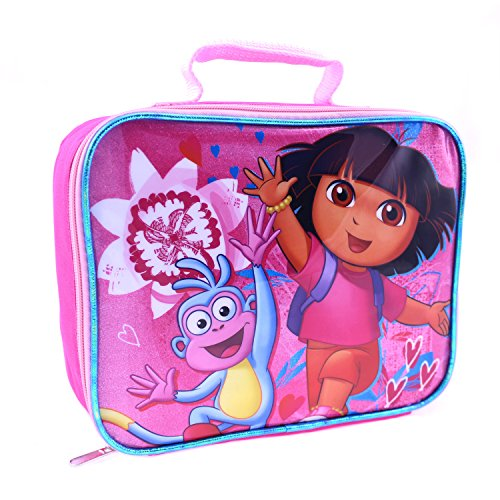 Global Design Concepts Dora the Explorer Lunch Kit, Pink - 1
