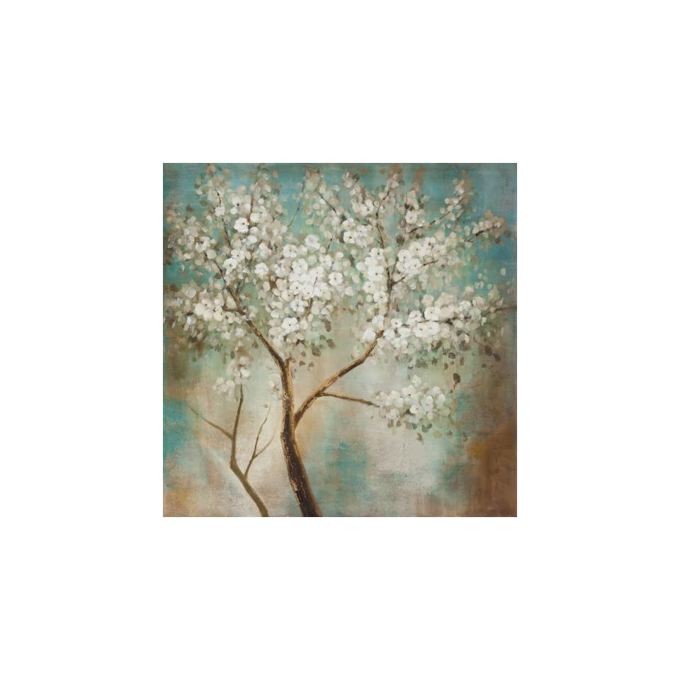 Yosemite Home Decor YG7689A Tree in Bloom Still Life Hand Painted Artwork
