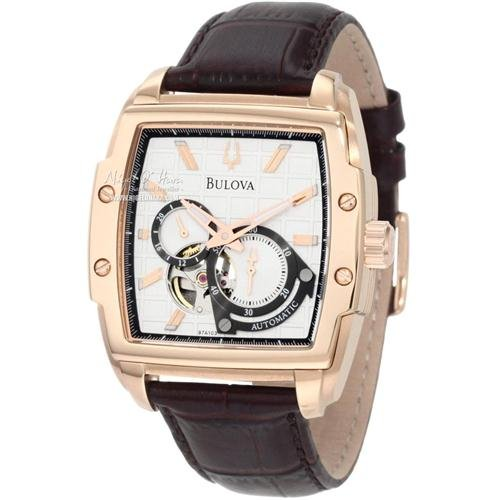 Bulova 97A103 Mens Mechanical Brown Watch