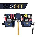 FASITE 32-POCKET Electrical Maintenance Tool Pouch Bag Technician's Tool Holder Work Organizer Framer's Tool Belt