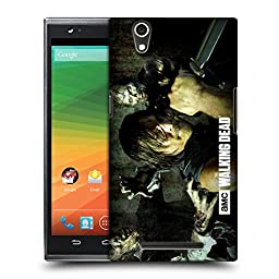 Official AMC The Walking Dead Daryl Knife Walkers And Characters Hard Back Case for ZTE Zmax